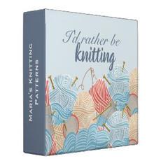 Knitting Pattern Binder $26.30