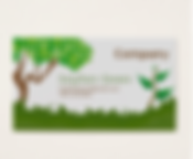 Gardening Services Business Cards