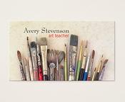 Art Teacher Businss Card
