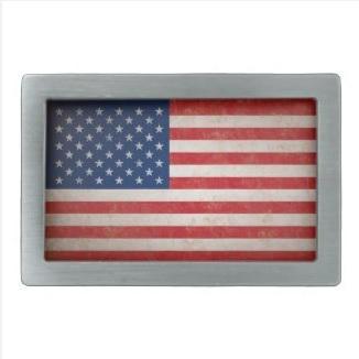 American Flag Buckle $32.70