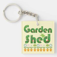 Garden Shed Keychain $11.60