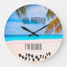 Funny Retired Clock $34.80