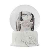 elegant custom photo snowglobe