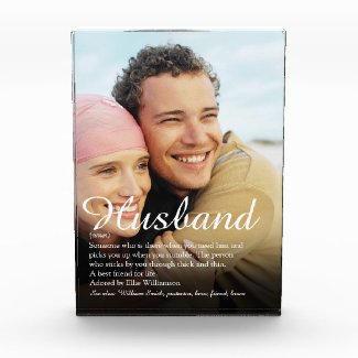 Husband Photo Block $47.95