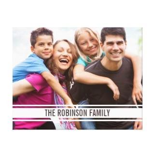 Family Photo Canvas $82.90