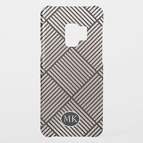 stylish striped squares samsung case