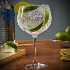 Custom Gin Glass $24.95