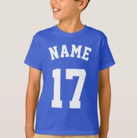 Custom Name Sport Shirt