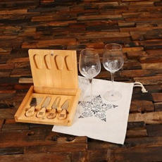 Cheese & Wine Set $103.99
