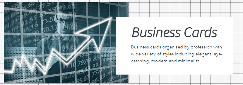 Business Cards by Profession and Style