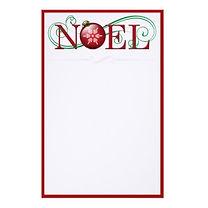 elegant noel christmas stationery