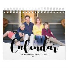 Custom Photo Calendar $20