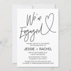 Engagement Invitation $2.35