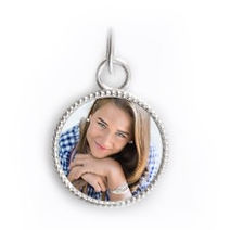 classic sterling silver photo charm