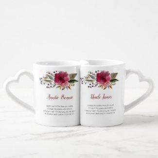 Godparents mug set $21.10