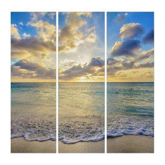 Aruba Beach Triptych $283.94