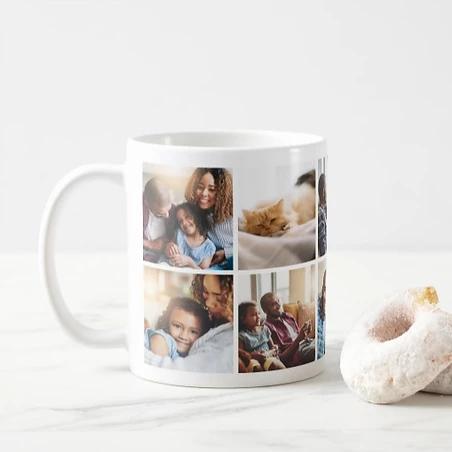 10 Photo Collage Mug $14.95