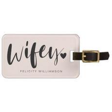 Wifey Luggage Tag $12.25