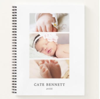 Photo Trio Notebook $17.50