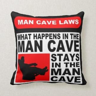 Man Cave Cushion $37.70
