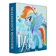 my little pony rainbow dash binder