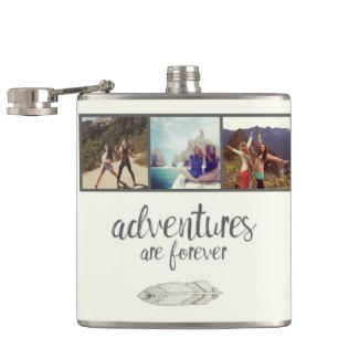 Modern Photo Flask $26.95