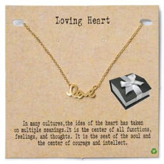 Love Word Necklace $18.99