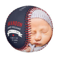 Boy Photo Baseball $33.45