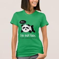 Not Lazy Panda Shirt $33.15