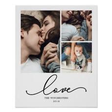 Photo Collage Poster $14.30
