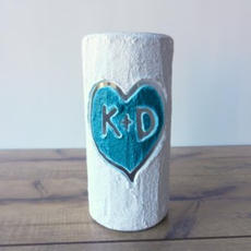 Couples Initial Vase $29