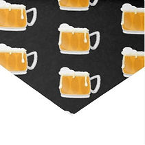 frothy beer glasses pattern mens tissue paper