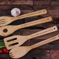Engraved Wood Utensils $24.99