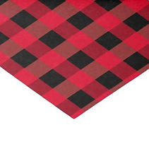 classic buffalo plaid tissue paper