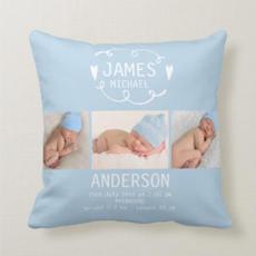 Baby Boy Cushion $34.50