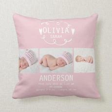 Baby Girl Cushion $34.50