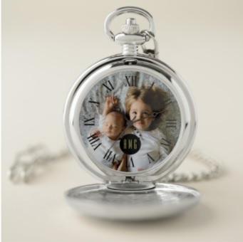 Photo Pocket Watch $37.90