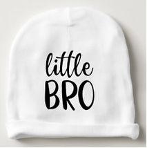 trendy little bro baby beanie