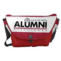 Harry Potter Hogwarts Alumni Messenger Bag