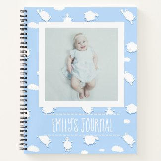 Clouds Baby Journal $17.90