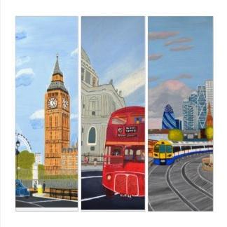London Triptych $283.94