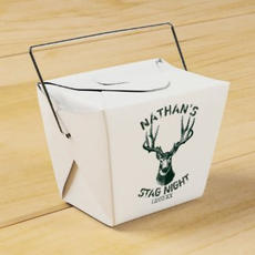 10 X Stag Favor Boxes $27