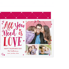 Photo Valentine Card $1.74
