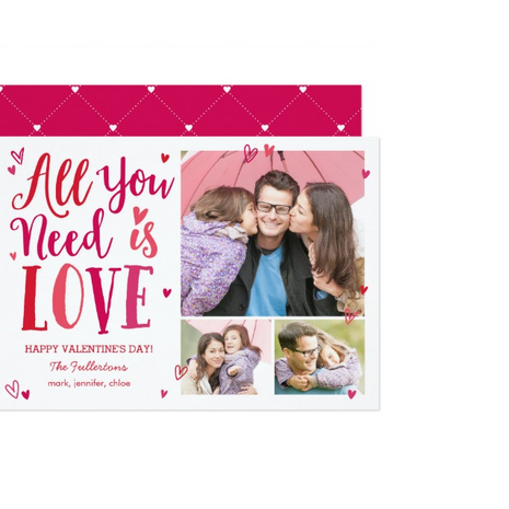 Photo Valentine Card $1.74