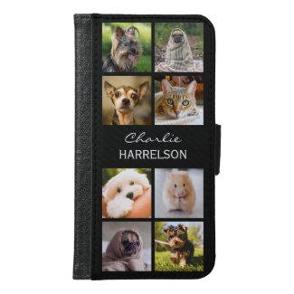 Photo Collage Phone Wallet