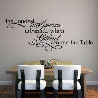 Memories Quote Decal $28