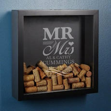 Mr & Mrs Shadow Box $59.95