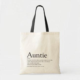 Auntie Definition Bag $11.15
