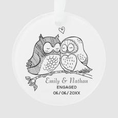 Sweet Owls Ornament $13.70