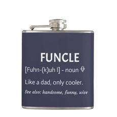 Funcle Hip Flask $27.85
